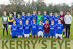 The Killarney Athletic team that played Inter Kenmare in Woodlawn on Saturday