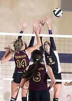 Freshman, JV and Varsity Volleyball vs Brebeuf 9-18-12