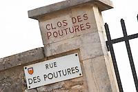 Clos des Poutures, Domaine Lochardet. Pommard, Cote de Beaune, d'Or, Burgundy, France
