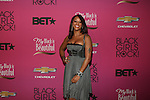 """Actress and Hip Hop Artist Eve  Attends """"BLACK GIRLS ROCK!"""" Honoring legendary singer Patti Labelle (Living Legend Award), hip-hop pioneer Queen Latifah (Rock Star Award), esteemed writer and producer Mara Brock Akil (Shot Caller Award), tennis icon and entrepreneur Venus Williams (Star Power Award celebrated by Chevy), community organizer Ameena Matthews (Community Activist Award), ground-breaking ballet dancer Misty Copeland (Young, Gifted & Black Award), and children's rights activist Marian Wright Edelman (Social Humanitarian Award) Hosted By Tracee Ellis Ross and Regina King Held at NJ PAC, NJ"""
