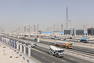 Highways and construction in Dubai