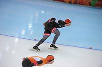 OLYMPICS: SOCHI: Adler Arena, 15-02-2014, Men's 1500m, Haralds Silovs (LAT), ©photo Martin de Jong