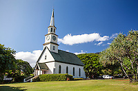The historic Ka'ahumanu Church in Wailuku, Maui.