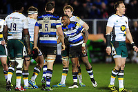 Semesa Rokoduguni of Bath Rugby is all smiles after the match. Aviva Premiership match, between Bath Rugby and Northampton Saints on February 10, 2017 at the Recreation Ground in Bath, England. Photo by: Patrick Khachfe / Onside Images