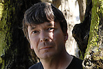 Ian Rankin, English crime novelist in Saint Malo, France, may 2012.