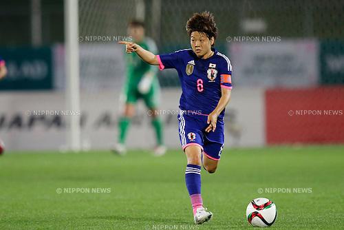 Aya Miyama (JPN), <br /> MAY 24, 2015 - Football / Soccer : MS&amp;AD Nadeshiko Cup 2015 match between Womens Japan and Womens New Zealand at Marugame stadium, Kagawa, Japan. (Photo by AFLO)
