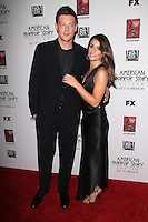 Lea Michele and Cory Monteigh