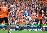St Johnstone v Dundee United....17.05.14   William Hill Scottish Cup Final<br /> Stevie May shoots for goal<br /> Picture by Graeme Hart.<br /> Copyright Perthshire Picture Agency<br /> Tel: 01738 623350  Mobile: 07990 594431