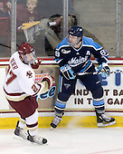 The Boston College Eagles defeated the visiting University of Maine Black Bears 4-1 on Sunday, November 21, 2010, at Conte Forum in Chestnut Hill, Massachusetts.