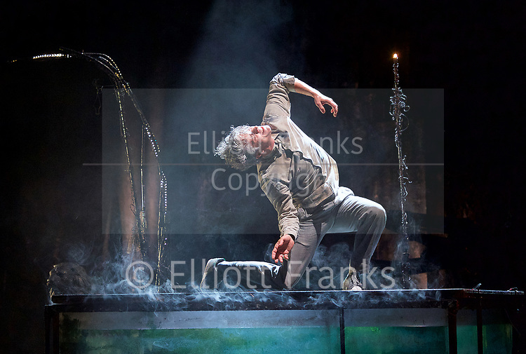 The Toad Knew <br /> James Thierree / Compagnie du Hanneton <br /> at Sadler's Wells, London, Great Britain <br /> Press photocall <br /> 3rd may 2017 <br /> <br /> James Thierree<br /> <br /> Photograph by Elliott Franks <br /> Image licensed to Elliott Franks Photography Services