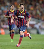 FUSSBALL  INTERNATIONAL   SAISON 2011/2012   02.08.2013 Gamper Cup 2013 FC Barcelona - FC Santos Lionel Messi (Barca)