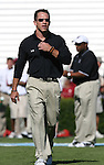 13 October 2007: South Carolina Assistant Strength Coach Steve Gortmaker. The University of South Carolina Gamecocks defeated the University of North Carolina Tar Heels 21-15 at Kenan Stadium in Chapel Hill, North Carolina in an NCAA College Football Division I game.