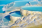 Photo &amp; Image  of Pamukkale Travetine Terrace, Turkey. Images of the white Calcium carbonate rock formations. Buy as stock photos or as photo art prints. 5