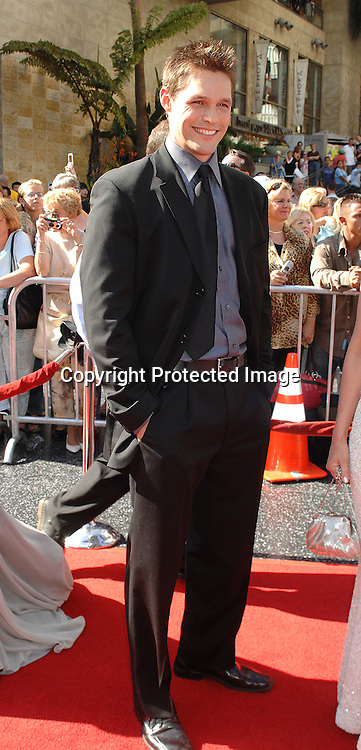 Justin Bruening..arriving at The 34th Annual Daytime Emmy Awards on ..June 15, 2007 at The Kodak Theatre in Hollywood, California. ..Robin Platzer, Twin Images......212-935-0770