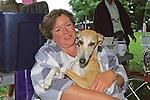 Italian Greyhound & Owner