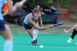 18 September 2015: North Carolina's Emily Wold. The University of North Carolina Tar Heels hosted the University of Louisville Cardinals at Francis E. Henry Stadium in Chapel Hill, North Carolina in a 2015 NCAA Division I Field Hockey match. UNC won the game 5-0.
