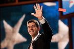 Republican vice presidential candidate Rep. Paul Ryan on the final night of Republican National Convention in Tampa, Florida, August 30, 2012.
