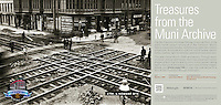 New 4th & Howard Streets Crossing | March 2, 1906  | Treasures from the Muni Archive at the SFO International Terminal