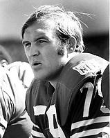San Francisco 49er Cas Banasezek..(1969 photo/Ron Riesterer)