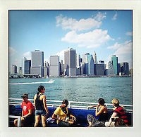 Brooklyn, Ferry to Governors Island, New York...From the series Fake Polaroids.http://www.stefanfalke.com/#/personal/Fake%20Polaroids/1/.