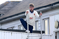 Matt Quinn of Essex on the pavilion roof during Essex CCC vs Hampshire CCC, Specsavers County Championship Division 1 Cricket at The Cloudfm County Ground on 19th May 2017