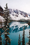 Moraine Lake near Lake Louise, Banff National Park, Alberta Canada