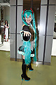 "June 2, 2012, Tokyo, Japan - A woman dresses as Vocaloid character at the Moe Culture Festival.  The Anime and Cosplay exhibition ""Moe Culture Festival 2012"" from June 2nd to 3rd at Otaku Sangyou Plaza Pio.."