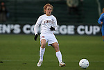 04 December 2009: Stanford's Kelley O'Hara. The Stanford University Cardinal defeated the University of California Los Angeles Bruins 2-1 in sudden victory overtime at the Aggie Soccer Complex in College Station, Texas in an NCAA Division I Women's College Cup Semifinal game.