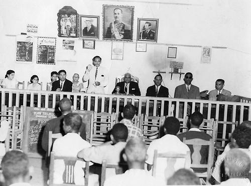Julio César, Ballesteros Hernández. Club Obrero. Compaña de Alfabetización. Sto. Dgo. © AGN