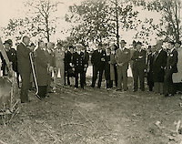 1940 OCTOBER 18..Merrimack Landing   ..Groundbreaking Ceremony, Merrimack Park...NEG#.447..