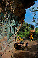 Poeung Komnou - Hidden archeological treasures in the Phnom Kulen AreaProvince of Siem Reap, Cambodia
