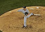15 June 2012: New York Yankees pitcher Cody Eppley on the mound against the Washington Nationals at Nationals Park in Washington, DC. The Yankees defeated the Nationals 7-2 in the first game of their 3-game series. Mandatory Credit: Ed Wolfstein Photo