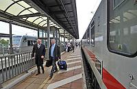 25.09.2013 Bahnhof Neue Messe für 4 Tage Hauptbahnhof