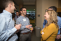 Adam Bensimhon, second from left, Christa Zehle, M.D. Class of 2013 dinner.
