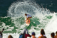 SNAPPER ROCKS, Queensland/Australia (Tuesday, February 28, 2012) Courtney Conlogue (USA). – The Roxy Gold Coast presented by Land Rover, the opening stop on the 2012 Women's ASP World Championship Tour, today whittled the field down to the just four women with the world's best surfers tested in tricky two-to-three foot (1 metre) surf at Snapper Rocks.. .Tyler Wright (AUS), 17, runner-up at the 2011 Roxy Pro, eliminated reigning ASP Women's World Champion and defending event winner Carissa Moore (HAW), 19, in a re-match of last year's Final. Wright was ferocious in her assault on the waves at Snapper Rocks, posting two excellent scores en route to causing the biggest upset of the event.. .Wright will face compatriot Laura Enever (AUS), 20, in the Semifinals of the Roxy Pro Gold Coast when competition resumes.. .Sally Fitzgibbons (AUS), 21, 2011 ASP Women's World Runner-Up, clocked a pair of scores in the 8-point-range to eliminate newcomer Malia Manuel (HAW), 18, in today's Quarterfinals. Manuel would end up with Eqaul 5th and bragging rights as the highest placed rookie at the 2012 Roxy Pro..  .Fitzgibbons will take on four-time ASP Women's World Champion Stephanie Gilmore (AUS), 24, in the Semifinals when competition resumes. The Gold Coast natural-footer seems to have found her form at the Roxy Pro Gold Coast and will be a dangerous draw when the event recommences.. Photo: joliphotos.com