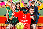 Front l-r Tommy O'Neill, Niall Maloney, Back l-r Fionn Twomey, Callum McSweeney, Jordan O'Rourke, Dylan Robinson  at the Jack O'Sullivan Soccer Tournament, Ballybunion at the Community Centre on Friday