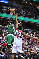Kevin Garnett of the Celtics drains a jumper. Boston defeated Washington 89-86 at the Verizon Center in Washington, D.C. on Saturday, November 3, 2012.  Alan P. Santos/DC Sports Box