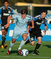 SANTA CLARA, CA--San Jose Earthquakes vs. Colorado Rapids at Buck Shaw Stadium.