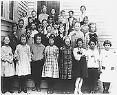 Photograph of Ronald Reagan's (second row, first from the left) Third Grade Class Photo ca.1919..