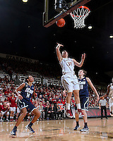 STANFORD, CA - December 29, 2012: Stanford Cardinal's Toni Kokenis during Stanford's 61-35 loss to Connecticut at Maples Pavilion in Stanford, California.