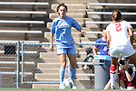 28 August 2011: North Carolina's Kealia Ohai. The University of North Carolina Tar Heels defeated the University of Houston Cougars 6-1 at Fetzer Field in Chapel Hill, North Carolina in an NCAA Women's Soccer game.