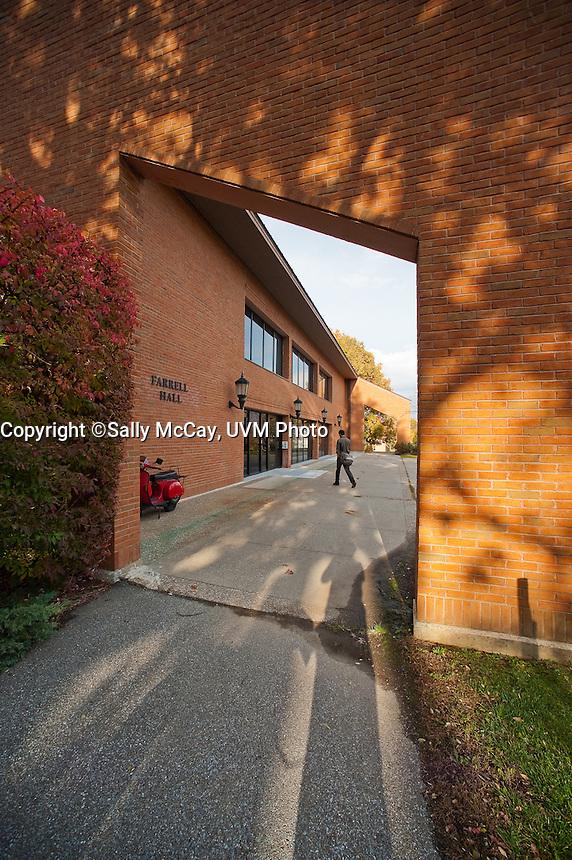Farrell Hall, Trinity Campus, Fall UVM Campus