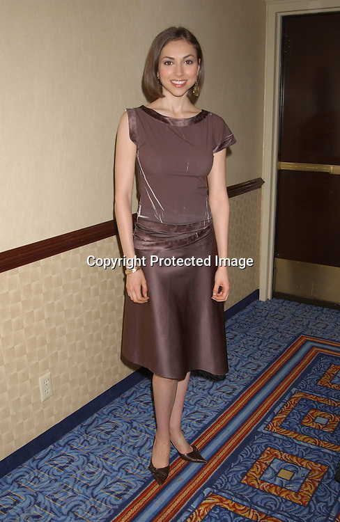 ..Eden Riegel ..at the All My Children Fan Club Luncheon on August 10,2003 at the Marriott Marquis Hotel in NYC. Photo by Robin Platzer, Twin Images