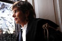 Gente di San Lorenzo. Avvocato Erica Dumontel..People of the district of San Lorenzo. Erica Dumontel, advocate...