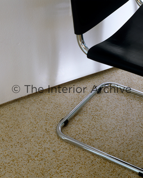 Poured terrazzo floors were used from around 1930 to 1960 and can be easily restored and polished if necessary