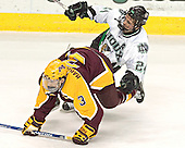 Chris Harrington, Chris Porter - The University of Minnesota Golden Gophers defeated the University of North Dakota Fighting Sioux 4-3 on Saturday, December 10, 2005 completing a weekend sweep of the Fighting Sioux at the Ralph Engelstad Arena in Grand Forks, North Dakota.