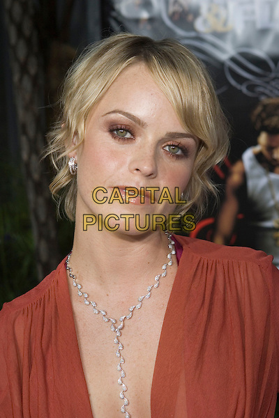 """TARYN MANNING .At the """"Hustle & Flow"""" Los Angeles Film Premiere,.held at the Arclight Cinerama Dome, .Hollywood, California, USA, 20th July 2005..portrait headshot silver y necklace.Ref: ADM.www.capitalpictures.com.sales@capitalpictures.com.©Zach Lipp/AdMedia/Capital Pictures."""