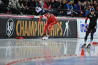 SPEED SKATING: HAMAR: Vikingskipet, 05-03-2017, ISU World Championship Allround, 1500m Men, Sindre Hendriksen (NOR), ©photo Martin de Jong