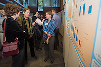Public Health Poster Session. Class of 2015. Wendy Davis, M.D., second from left, Stephanie Brooks.