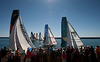 13th October 2011. Extreme Sailing Series 2011 - Act 8. Almeria. Spain.